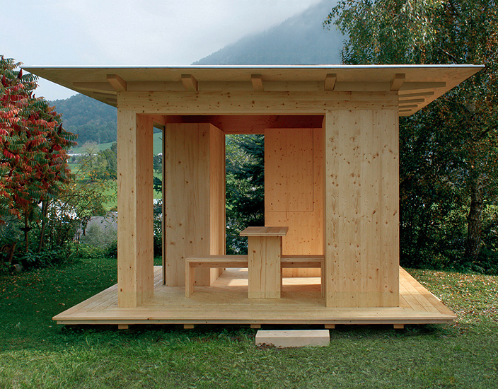 Autoconstrucci n arquitectura modular pabell n de jard n for Arquitectura de jardines